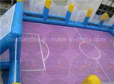 Handelsfußball-Gerichts-aufblasbare Seifen-Fußballplatz-Miete