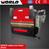 We67k Aço inoxidável ou Aço de carbono Prensa de metal com freio