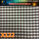 Prodotto di contanti, tessuto tinto dell'assegno del filato di poliestere per l'indumento (X121-123)