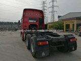 Tonnellata del camion 30-40 della testa del trattore del rimorchio di Sinotruk usata commercio all'ingrosso HOWO