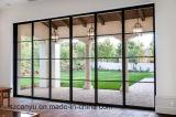 Окно & дверь цвета тимберса законченный алюминиевые сползая