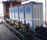 Rebarの銅線のアニーリングのためのIGBTの誘導電気加熱炉