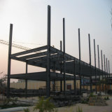 Edifício comercial Prefab da construção de aço para o supermercado