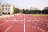 Нетоксический резиновый идущий след для спортивной площадки школы