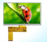 7 asamblea capacitiva de pantalla táctil del coche TFT LCD de la pulgada