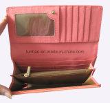 Бумажник женщин конструкции втройне цвета контраста тона самый последний