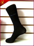 Kundenspezifische Firmenzeichen-Qualitäts-Mann-Kleid-Socken