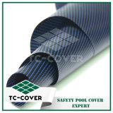 Tissu de maille de pp pour la couverture de sûreté avec la bonne évacuation de l'eau