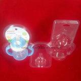 Tampa dobrada da bolha da embalagem dos produtos do bebê