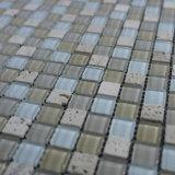 Mosaico del vidrio del azulejo de la pared del material de construcción