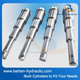 Cilindro hidráulico telescópico de dupla ação para reboque de descarga