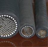 Черный шланг резины Resisitant ссадины