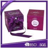 Het Embleem die van de Douane van de luxe de Verpakking van het Vakje van de Gift van het Document voor Parfum vouwen
