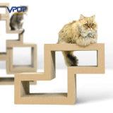 Fábrica Fabricante Modular Cat Scratching Blocks Cardboard Cat Scratcher
