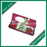 Rectángulo de regalo acanalado de la flor e flauta (FP0200018)