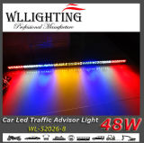 Slim 50 Inch Traffic Warning Advisor Stick Light