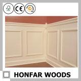 白い木製の壁パネルの形成の腰長押の鋳造物