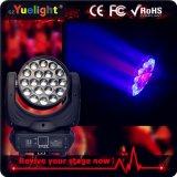 Träger-bewegliches Hauptlicht Guangzhou-Yuelight 4in1 19PCS*10W RGBW LED mit lautem Summen