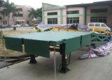 Rampa móvil lateral tres Ce-Aprobados para el cargamento y descargar