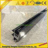 Het geanodiseerde Frame van het Aluminium voor Venster en Deur met het Profiel van U van het Aluminium