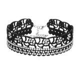De Juwelen van de Halsband van de Nauwsluitende halsketting van het Kristal van het Bergkristal van de manier