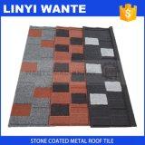 Mattonelle di tetto d'acciaio rivestite di pietra di Wtshingle di migliori prezzi