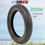 Neumático 12 1/2&times del cochecito de bebé de la alta calidad; 2 1/4 (57-203) con caucho natural puro