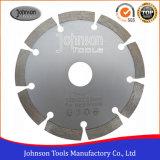 Lame de scie circulaire segmentée en diamant 125mm pour coupe de granit