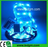 Do Natal de /Red/Blue/Green 60LEDs/M 120LEDs/M 240LEDs/M3528 DC12V24V220V240V do diodo emissor de luz luz 2017 de tira flexível amarela decorativa com sensor de movimento