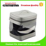 Kundenspezifischer Zylinder-kosmetischer Kasten-Beutel-Arbeitsweg-Toilettenartikel-Verfassungs-Beutel