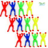 Großhandelsklebrige Spielwaren des fabrik-Angebot-TPR für Kind-preiswerteste lustige Spielwaren-klebrige Wand-Männer