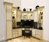 Modules de cuisine crèmes en bois solide de Furiture de cuisine de Ritz