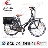 E-Велосипед города мотора рамки 250W сплава 700c 36V безщеточный (JSL036X-9)