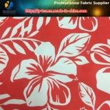 Impressão tropical da flor no poliéster Microfiber para a camisa ou o Beachwear (YH2130)