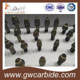 Morceaux de dents en forme de dents de carbure de tungstène / coupe-charbon