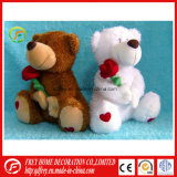 Brinquedo do presente do bebê de urso Heated da peluche com saco do trigo