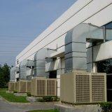 ステンレス鋼のシェルの2ステージの壁に取り付けられた蒸気化の空気クーラー