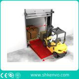 固定油圧ローディングおよび荷を下すドックレベラー