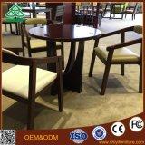 Lederne Kaffeetisch-Stuhl-purpurrotes Kaffeetisch-Set und Stühle