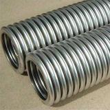 Espiral/alambre acanalado de Annural tejido el manguito del metal flexible