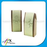 Rectángulo de empaquetado de la cartulina de la joyería del regalo plegable rígido del reloj
