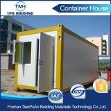 дом контейнера вмещаемости 20FT допустимый для полуфабрикат дома