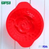 Plaque à tartiner en silicone Plaqué à la noix Torte Moule aux poignées