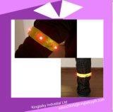 Wristband reflexivo de la seguridad del LED para el transporte Ksv017-006