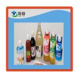 en las escrituras de la etiqueta del molde para las botellas coralinas de los PP del calcio