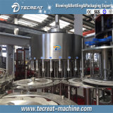 ミネラル飲料水のびん詰めにする生産ライン