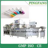 Cadena de producción completamente automática de máquina del tubo de la colección de la sangre del vacío para el citrato de sodio, EDTA, heparina