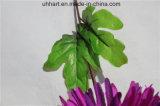 훈장을%s 인공적인 Hydrangea 꽃 공이 실크 Hydrangea 긴 줄기에 의하여 꽃이 핀다