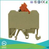 Тип блок переключателя распределения рельса DIN промышленный 4mm 250V 10A терминальный