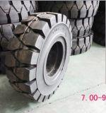 Neumático sólido de la carretilla elevadora de Eastar 6.00-9, neumático sólido de Forkliftrtuck, rendimiento del neumático 6.00X9 de la carretilla elevadora alto
